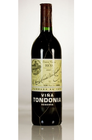Lopez de Heredia, Viña Tondonia Reserva, Rioja, 2001
