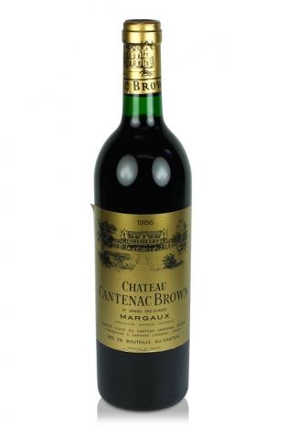 Château Cantenac Brown, Margaux, 1986