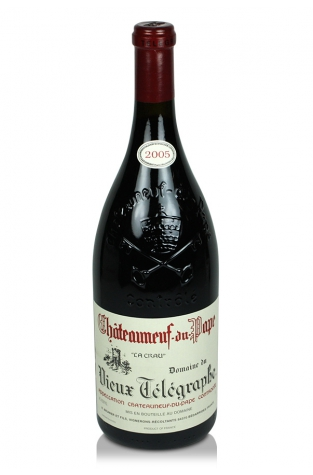 Domaine du Vieux Télégraphe, Châteauneuf-du-Pape, 2005 (Magnum)