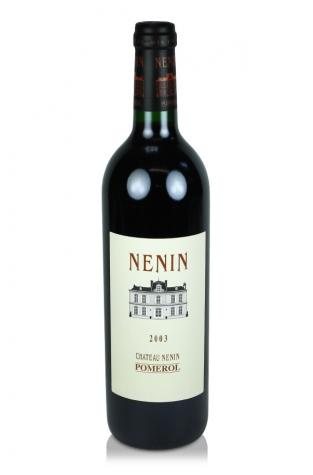 Château Nenin, Pomerol, 2003