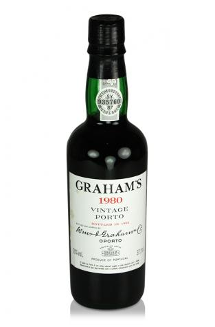 Graham's Vintage Port, 1980 (Half Bottle)