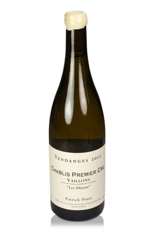 Vaillons 'Les Minots' Vieilles Vignes Patrick Piuze, Chablis 1er Cru, 2011