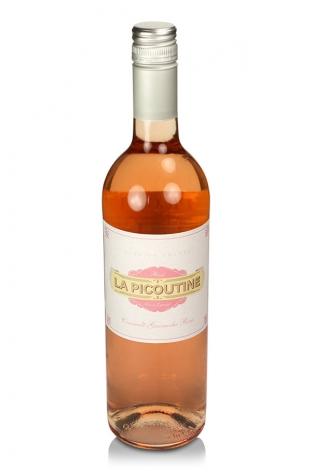 La Picoutine Cinsault Grenache Rosé, Vin de Pays d'Oc, 2012