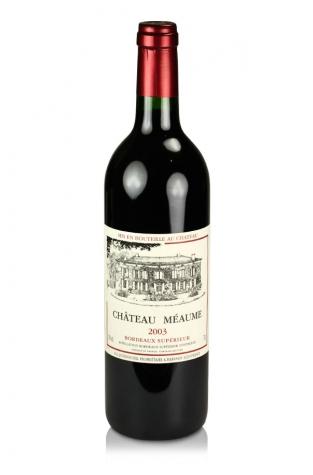 Château Meaume, Bordeaux Superior, 2003