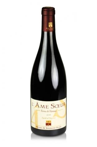 Michel & Stephane Ogier Syrah l'Ame Soeur, Vin de Pays des Collines Rhodaniennes, 2006