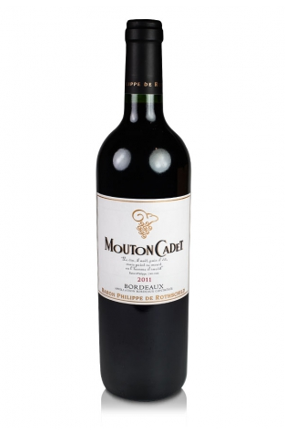 Baron Rothschild Mouton Cadet, Bordeaux Rouge, 2011