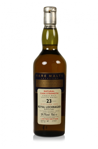 Royal Lochnagar 23 Year Old 1973 Rare Malt Whisky