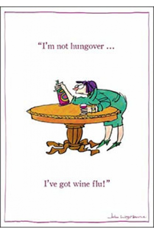 I've got wine flu