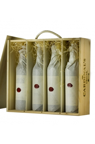 Wooden Wine Gift Box - 4 bottles