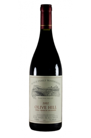 Burge Family Winemakers, Olive Hill SGM Shiraz, Barossa Valley 2001
