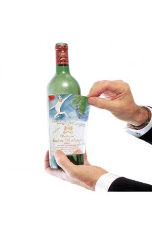 Wine Label Preservers
