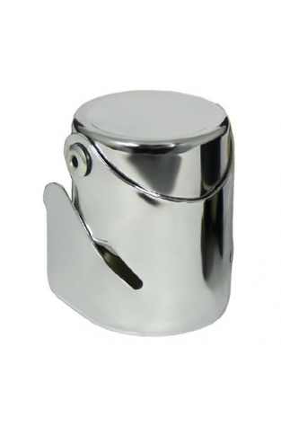 Professional Champagne Stopper, Chrome Plated