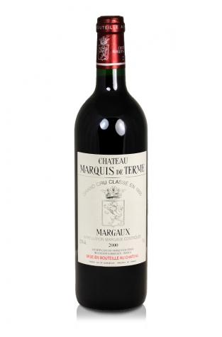 Château Marquis de Terme, Margaux, 2000