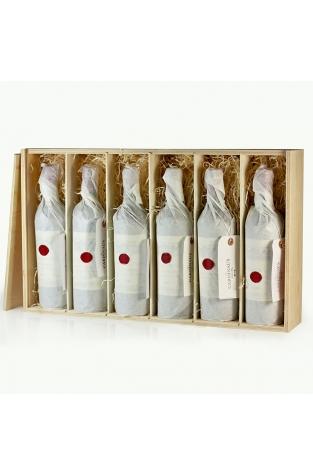 Wooden Wine Gift Box - 6 bottles