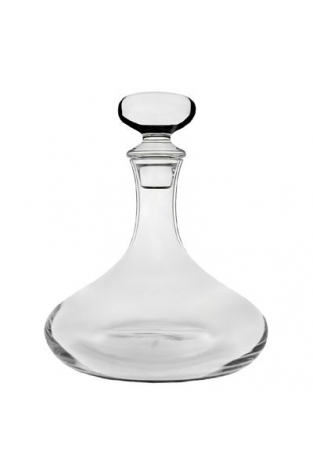 Les Cepages Glass Decanter with Glass Stopper