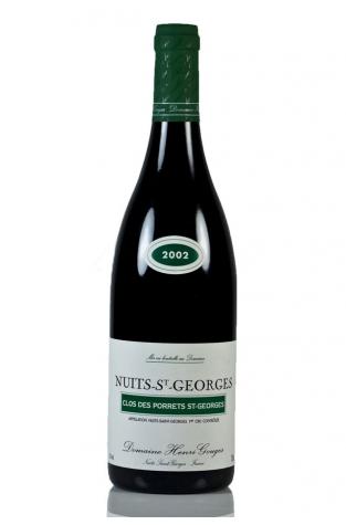 Domaine Henri Gouges Clos des Porrets, Nuits St Georges 1er Cru, 2002