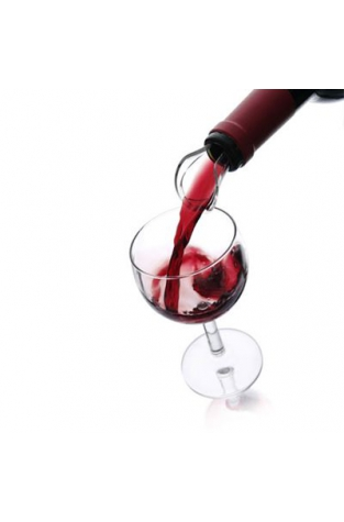 VacuVin Crystal Wine Server