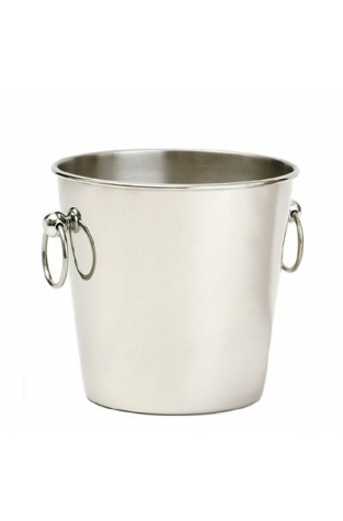 Wine Bucket, Stainless Steel, Bottle Size