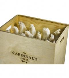Wooden Wine Gift Box - 12 bottles