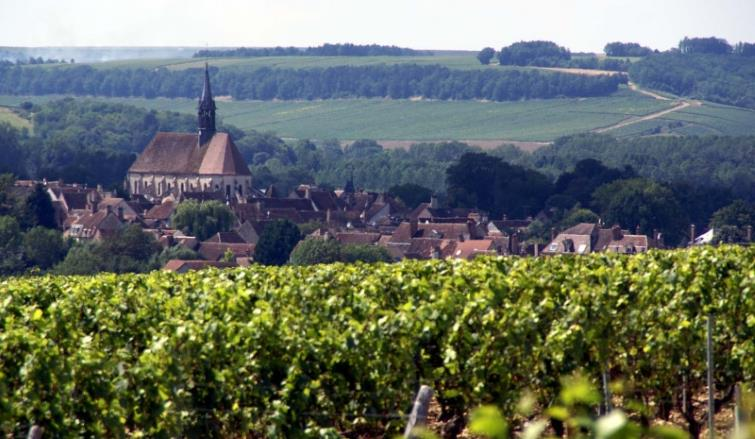 chablis from grand cru hill
