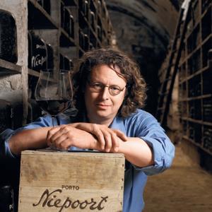 dirk van der niepoort in the cellar