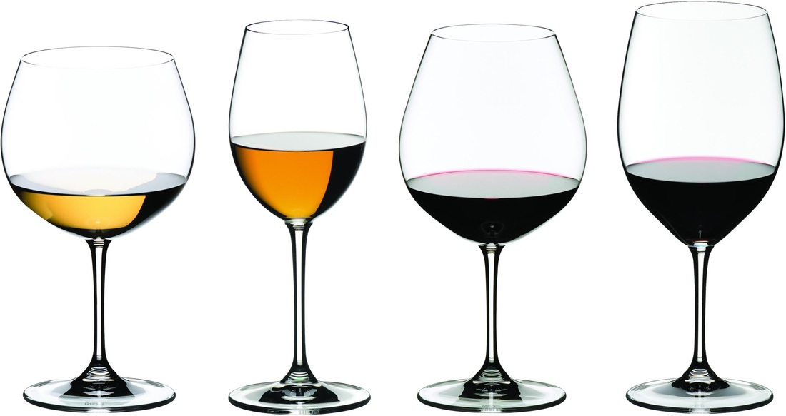 How to Choose the Correct Wine Glasses - What's the Difference?