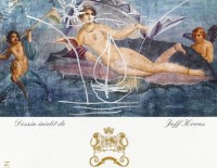 label 2010 mouton by jeff koons