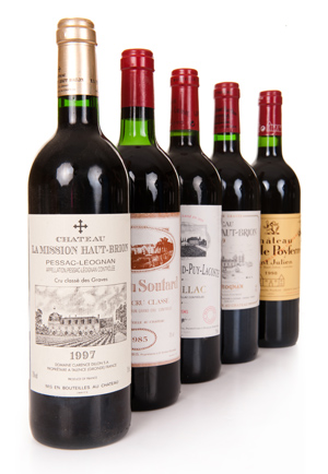 Wines from The Cellar